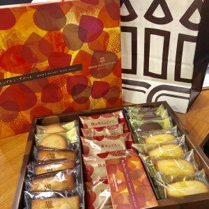 営業Oさんから美味しい洋菓子をいただきました☺︎食欲の秋🍂ということですぐに食べちゃいました♬