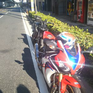 バイク部でツーリング