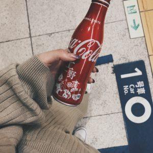 かわいい上野動物園柄のコーラ!🌈🌼✨💕