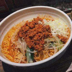じねん🍜イチオシの坦々麺❤︎✨