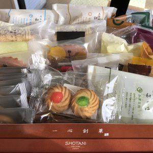 盛りだくさんのお菓子をいただきました😊