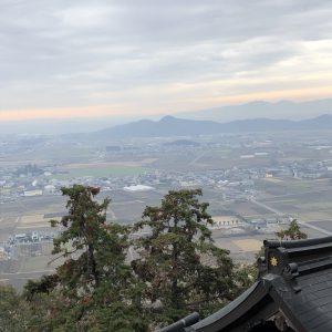 滋賀県の太郎坊宮へ必勝祈願☆