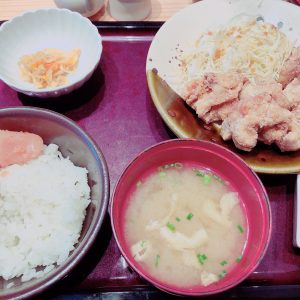 明太子&高菜の食べ放題!!最高です♡