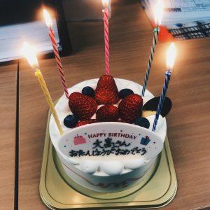 4月1日にお誕生日だった営業マンOさん🎂💕お誕生日おめでとうございます🎉