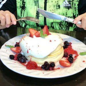 さかい珈琲のホットケーキは12時から❗️