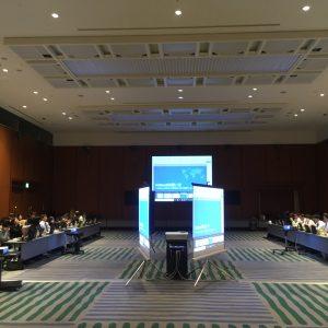 滋賀県のピアザ淡海で会議がありました。