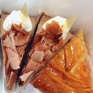社長にケーキを買って頂きました🙏糖分補給して午後からも頑張ります(*'ω' *)♥