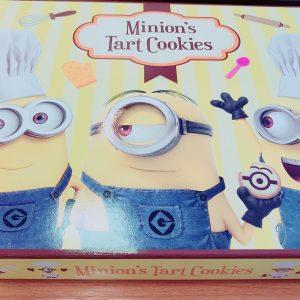 可愛いし美味しいミニオンタルトクッキーも!😌💓皆で美味しく頂きました(*'ω'*)
