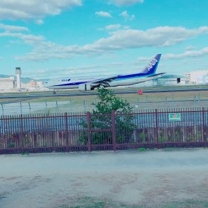 伊丹スカイパークで飛行機見てきました✈️