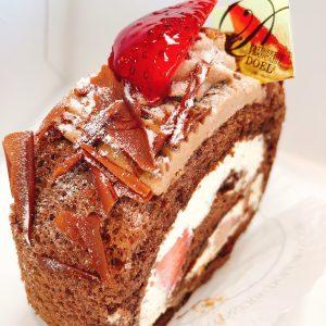 社長よりケーキ頂きました🍰美味しくてペロリでした!😋